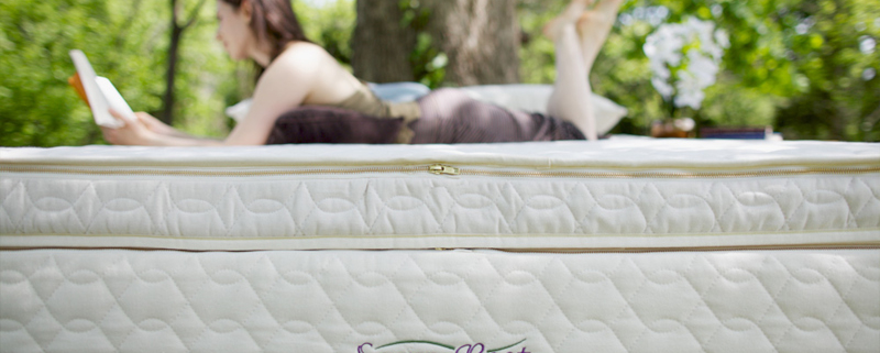 Latex mattresses are great for cooler sleeping